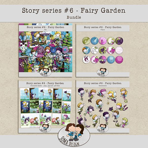 SoMa Design: Fairy Garden - Bundle