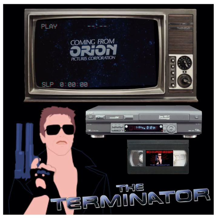 The Terminator VHS LIGHT