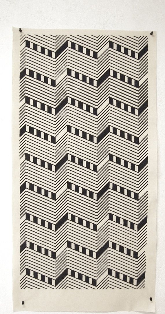 Fabric poster  pattern 04 / / 100% cotton by ColorblindPatterns