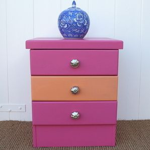Hot Pink and Orange Drawers by Raspberry Fox