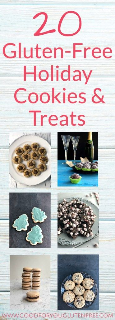 20 Gluten-Free Holiday Cookies + Treats