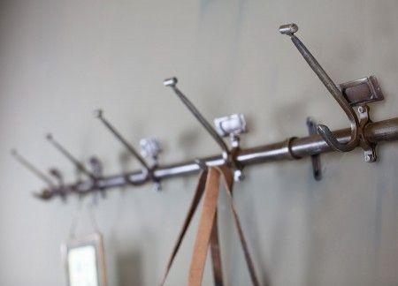 Vintage Iron School Hooks | Design Vintage | Vintage Coat Hooks