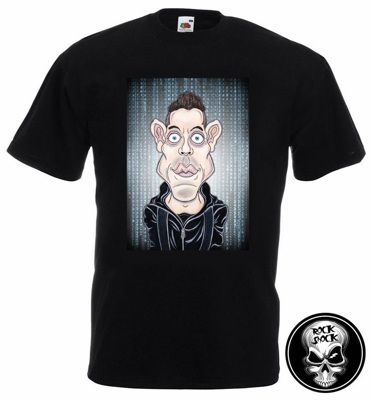 Mr. Robot Elliot Caricature T-Shirt (£14.99) https://www.etsy.com/uk/listing/484698047/mr-robot-elliot-caricature-custom-text?ref=shop_home_active_1 #mrrobot #elliotmrrobot #elliotalderson #mrrobottshirt #caricaturetshirt #fsocietytshirt #anonymoustshirt #mrrobotcaricature #disobey #tvseries #ramimalek #ramimalekcaricature