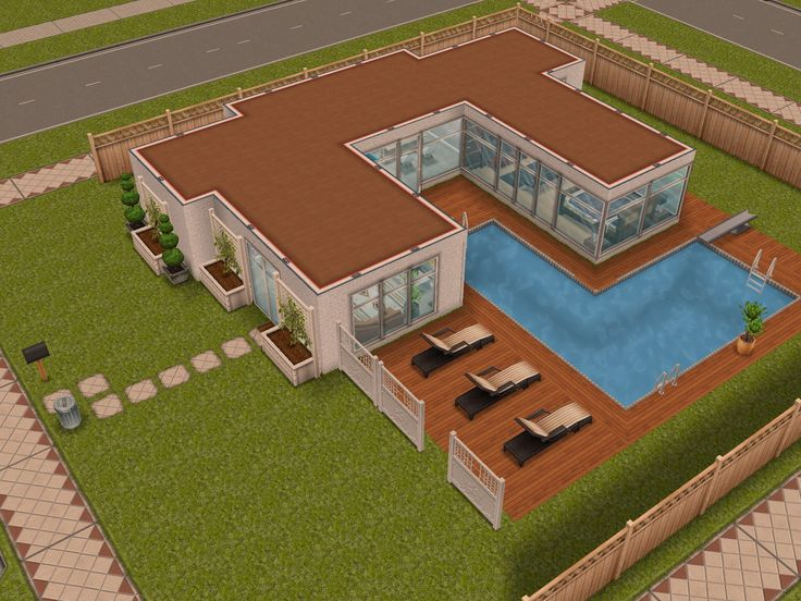 The Sims Free Play  Modern house #1   #sims #thesims #house #ideas