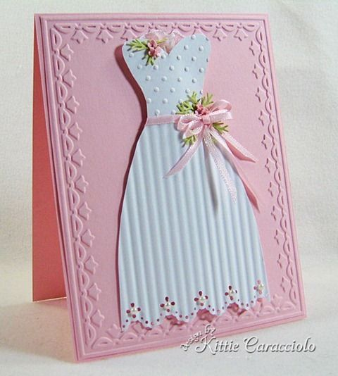 ,: Pretty Dresses, Cards Ideas, Cute Dresses, Paper Dresses, Parties Dresses, Dresses Cards, Crafty Cards, Greeting Cards, Cardmaking Ideas