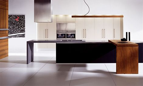 Striking Linear Kitchen from Doca - Sedamat Negro | Kitchens