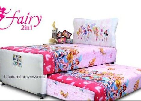 FAIRY 2in1 Elite Springbed Anak FAIRY 2in1 MEDIUM Soft, everflex Spring System With 3 Zones Latex Layer - See more at: http://www.tokofurnitureyenz.com/product/fairy-2in1-elite-springbed-anak/