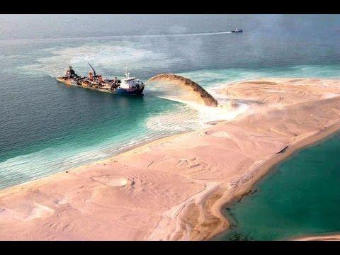 มาดูวิธีสร้างเกาะในดูไบ อลังการดาวล้านดวง พร้อม 37 ภาพที่พิสูจน์ว่าเมือง...