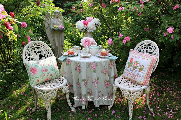 191 best AH&G Garden Teas images on Pinterest | House gardens ...