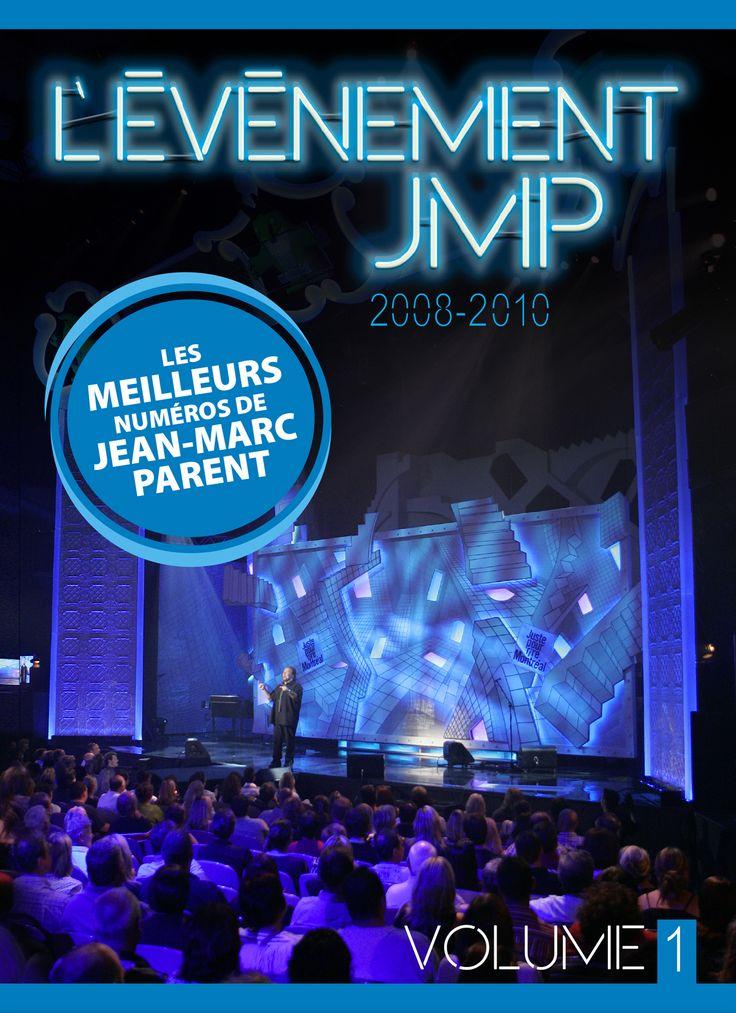 L'évènement JMP 2008-2010 - Les meilleurs numéros de Jean-Marc Parent - Jean-Marc Parent #Film #DVD #Movie #Spectacle