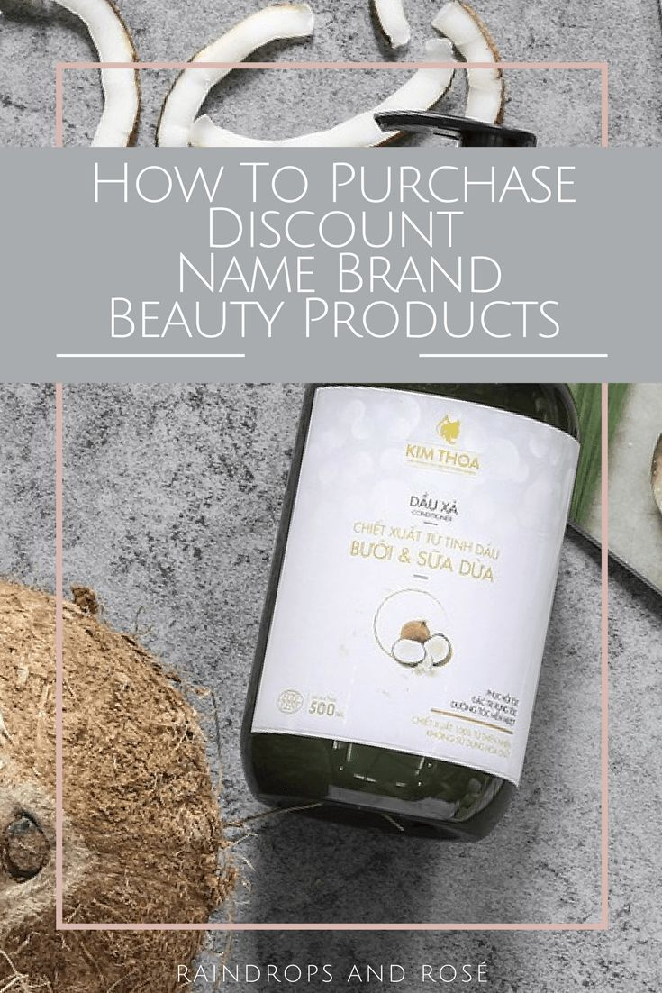 How to get Discount Name Brand Beauty Products - Find Discount Beauty Products for Crazy Cheap!