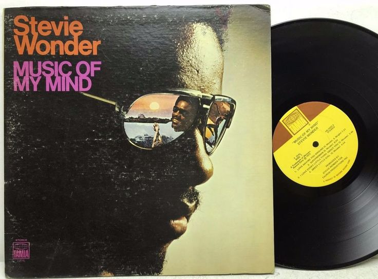 Stevie Wonder - Music of My Mind Tamla Motown LP Vinyl Record Album stores.ebay.com/capcollectibles