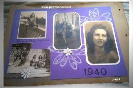 #Album #di  #famiglia #Eumene & #Clara realizzato a mano con la tecnica dello  #scrapbooking - PAG 4