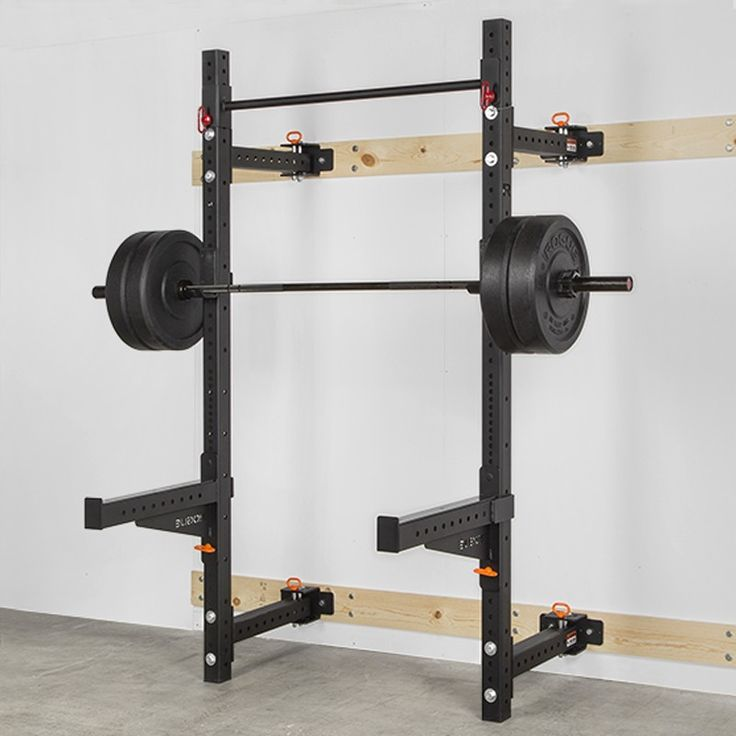 The rogue rml w fold back wall mount rack features