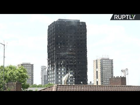 LIVE: Aftermath of massive blaze at Grenfell Tower