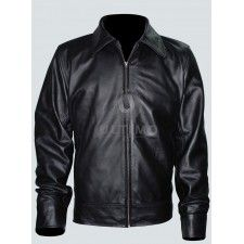 American Gangster Richie Roberts (Russell Crowe) Leather Jacket