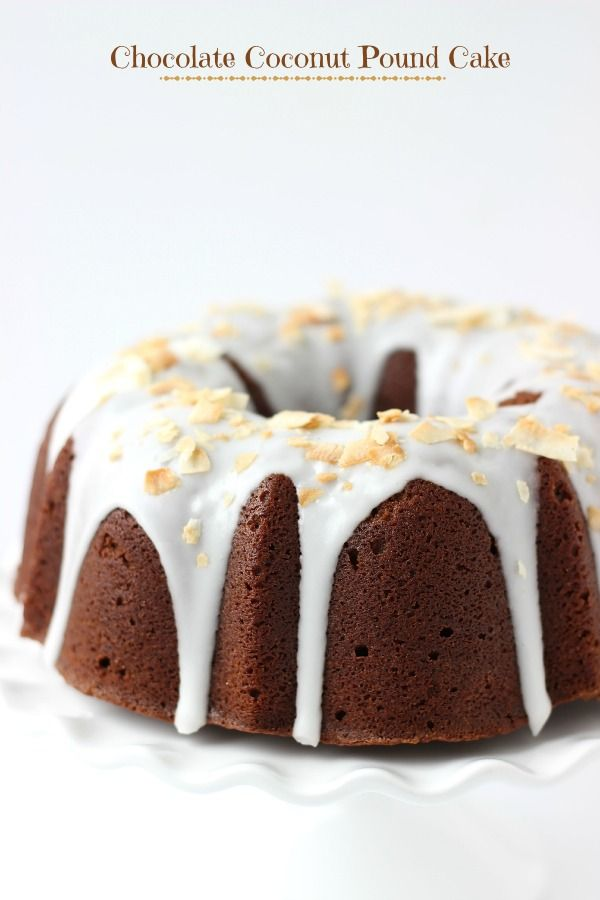 Chocolate Coconut Pound Cake (she: Zainab)