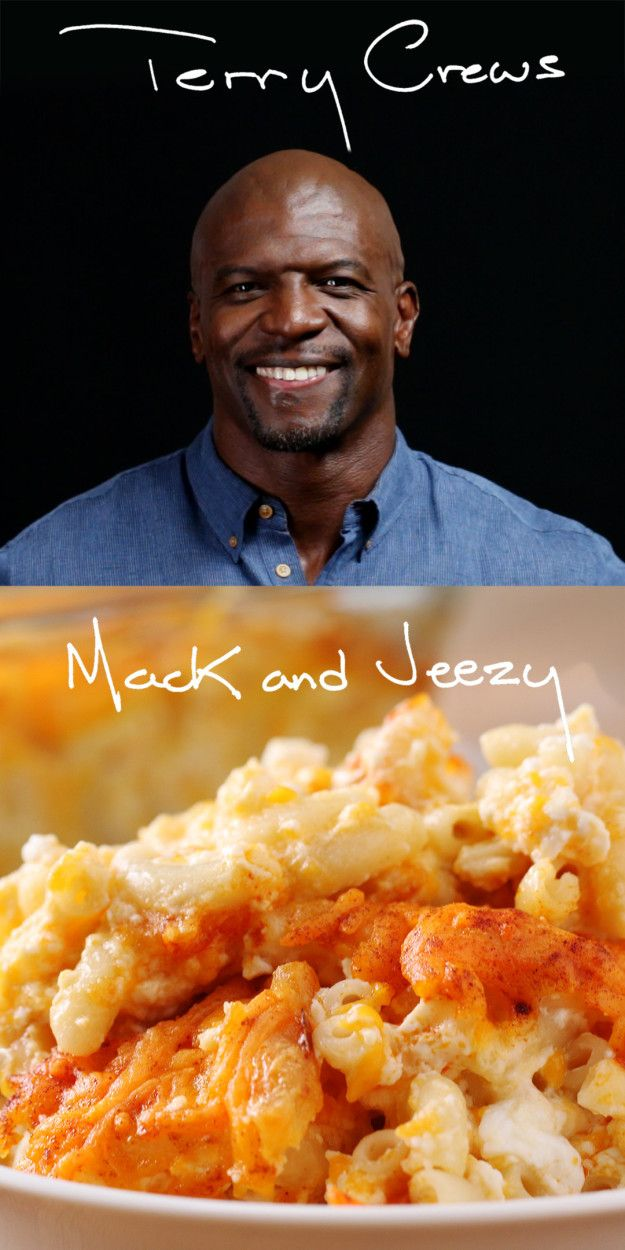 Mac And Cheese As Made By Terry Crews  Use less cheese (or lactose free) and plain Greek yogurt instead of sour cream.