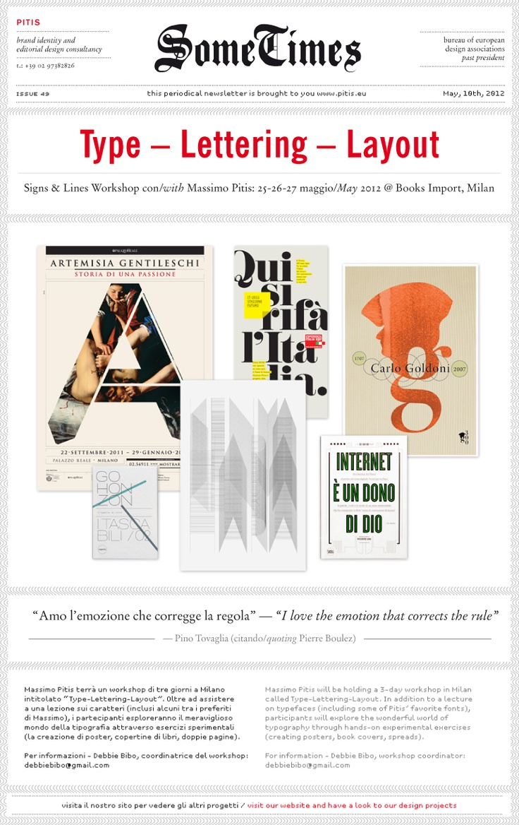 N°49 / Type-Lettering-Layout