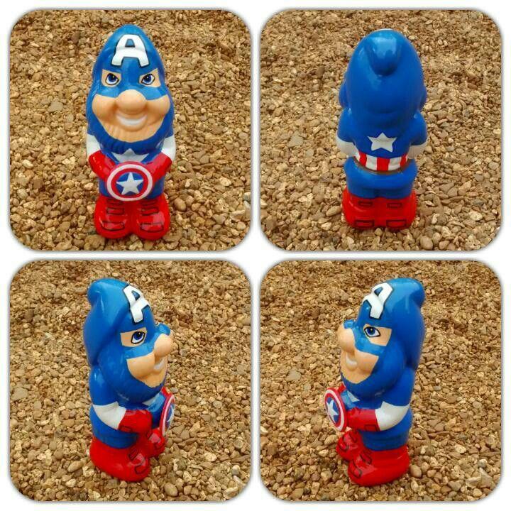 Marvel 'Captain America' gnome