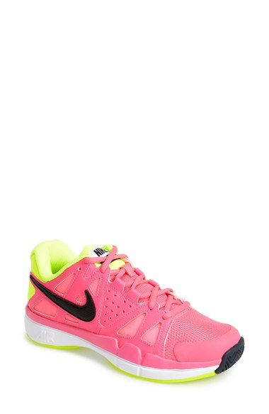 Free shipping and returns on Nike 'Air Vapor Advantage' Tennis Shoe (Women) at Nordstrom.com. A comfortable, shock-absorbing tennis shoe keeps you light on your feet while offering stabilizing support with a durable XDR rubber sole.