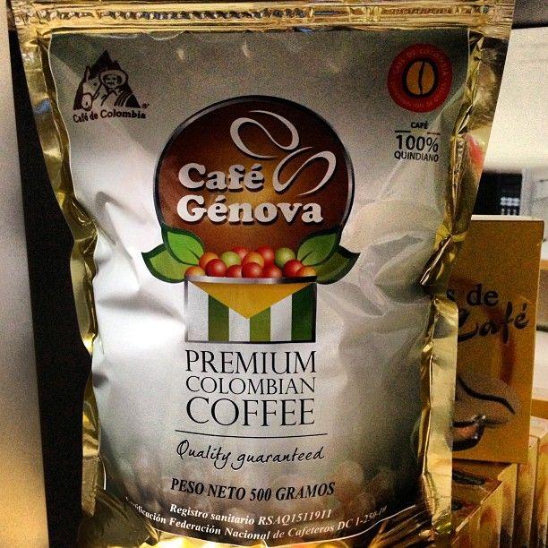 Café Genova, producto local de Genova, Quindio. Foto gracias a http://instagram.com/juanbotero