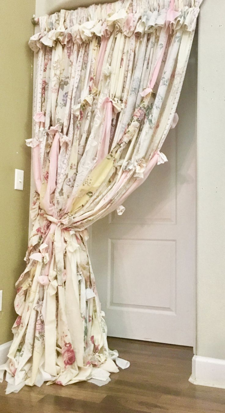 Image result for boho rag curtains curtains in pinterest