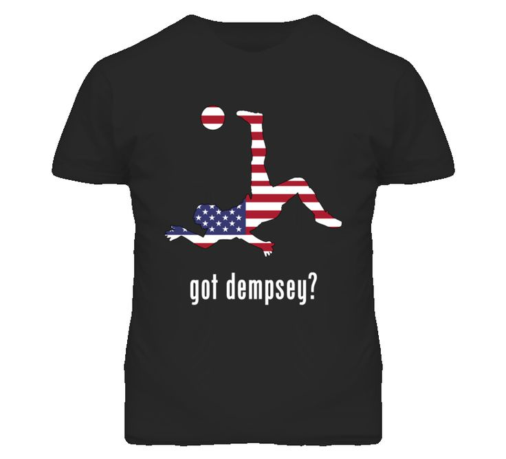 Clint Dempsey Usa Fw Black Football Soccer World Cup T Shirt