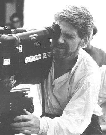 Diretores filmando: Kenneth Branagh.