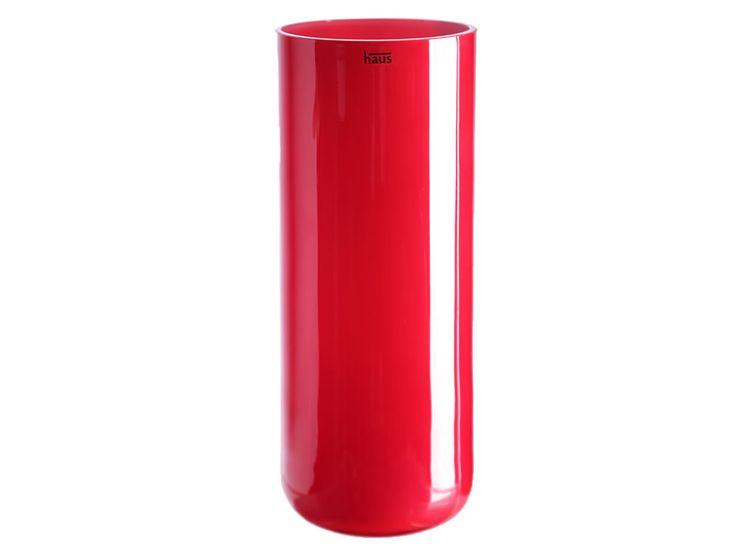 Florero Cilíndrico Haus Rojo Sprayed-Liverpool es parte de MI vida