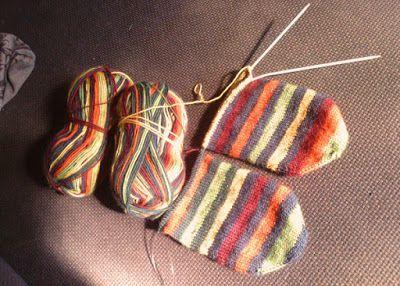 huis-tuin-en-keuken: C: Zelf sokken breien