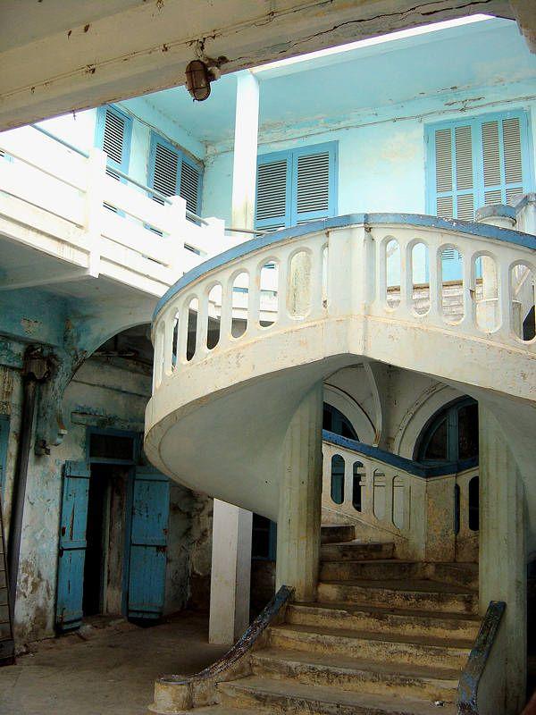 Maison coloniale - Saint Louis - Saint-Louis, Saint-Louis - Senegal