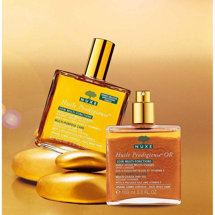 Es verano y tu piel lo sabe, en Walgreens encuentras los aceites franceses Nuxe para tu pelo, cara y cuerpo. #QuéSuerte #Walgreens #NuxeProducts
