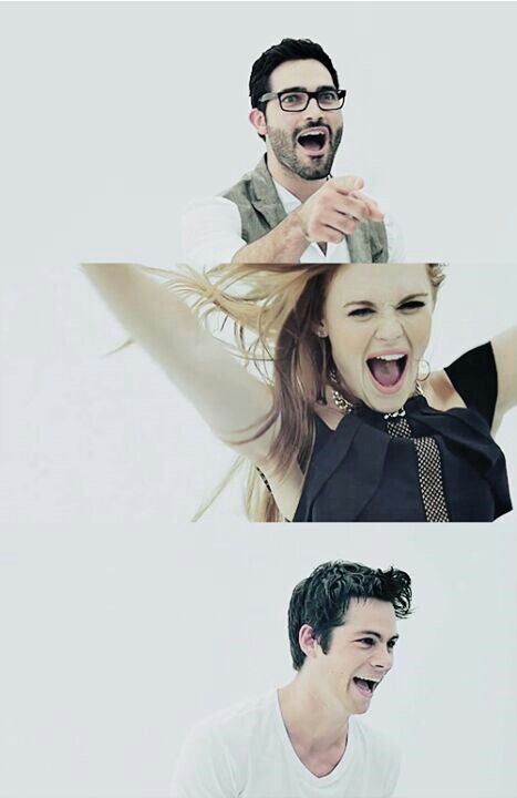 Teen Wolf ~ Tyler Hoechlin, Holland Roden and Dylan O'Brien <3 - SDCC 2014