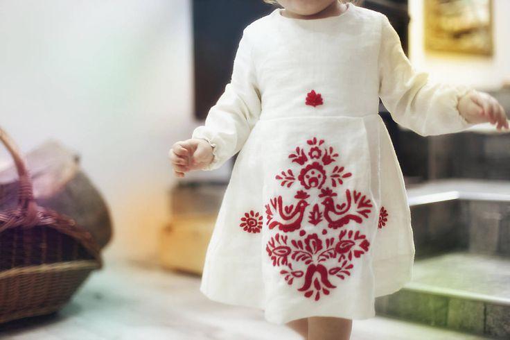 Mini Slovenské devy, detské šaty
