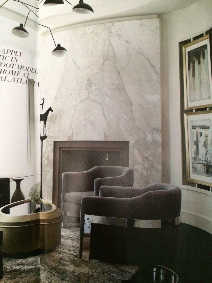 Marble Slab Fireplace For The Home Pinterest