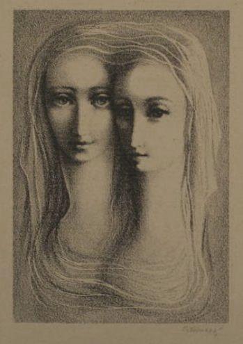 Ludmila Jirincova - Two Girls