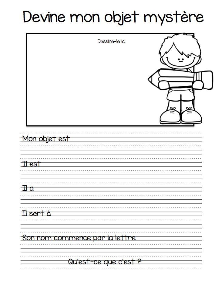 Dans le cadre de mes ateliers d'écriture, j'offre plusieurs choix aux enfants. Ils peuvent évidemment faire de l'écriture libre, mais j'aim...