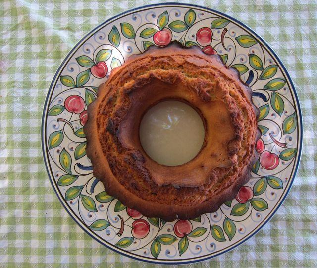 olive oil cake + fig & red wine compote - Elizabeth Minchilli in Rome