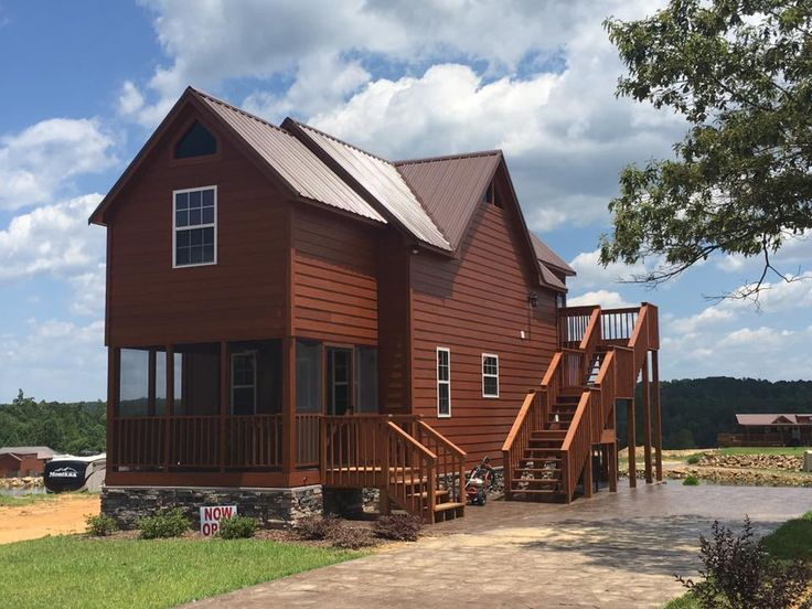32 best custom built cabins images on pinterest cabins for Custom cottages for sale