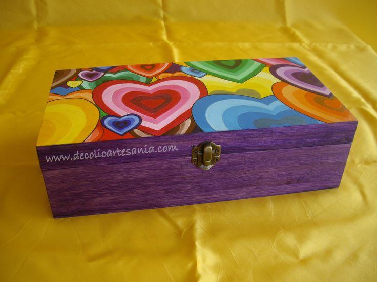 56 best images about cajas de madera on pinterest wood - Decoracion de cajas ...