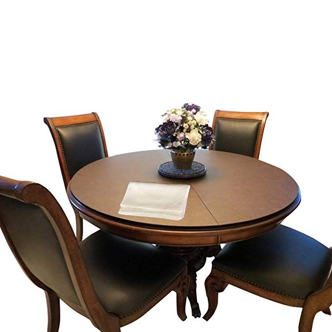 Custom Made Table Pads For Round Dining Room Table And Leaf