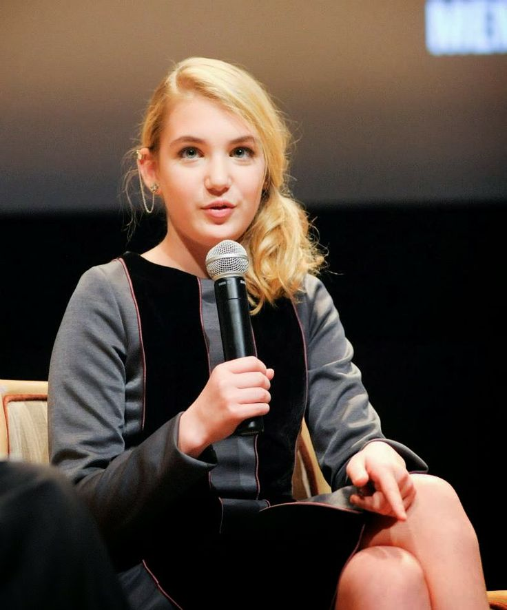sophie nelisse- she is my favorite actress-even more than Jennifer Lawrance..she is amazing.