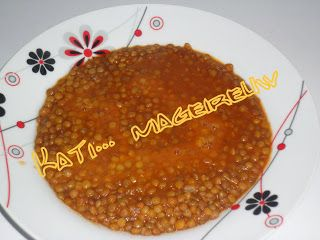An easy way to cook lentils. Ένας εύκολος τρόπος να φτιάξετε φακές.