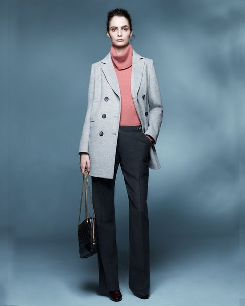 Wool Flannel Snaffle Trouser #JaegerWoolWeek I love this whole outfit!