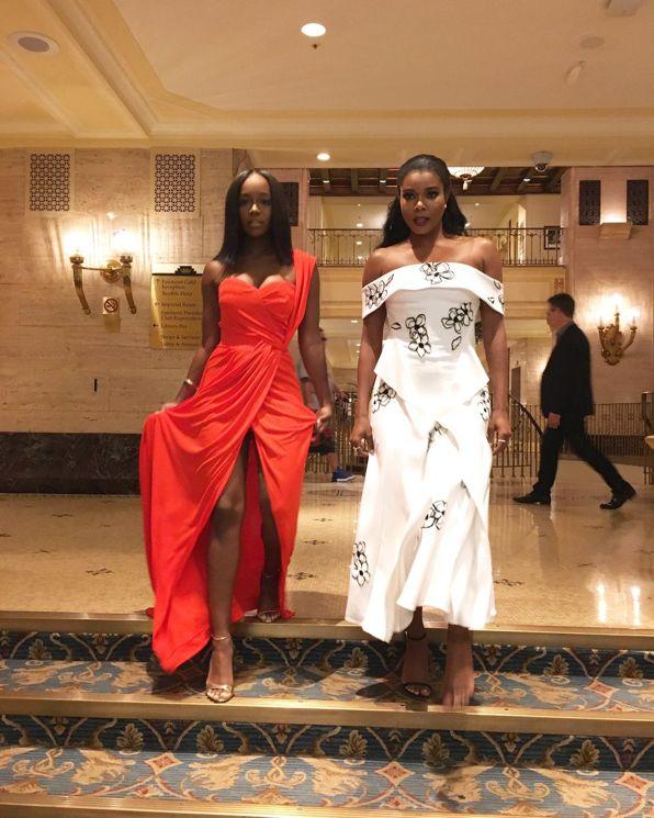 Gabrielle Union and Aja Naomi King #TIFF16