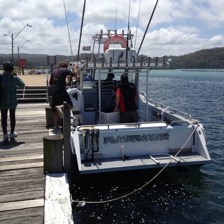 The Playstation our Charter in Narooma with Skipper Ben.  #brilliantroadtrip