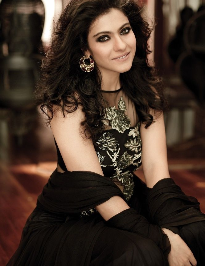 Kajol.... The woman who would always be 'glam' for my generation.