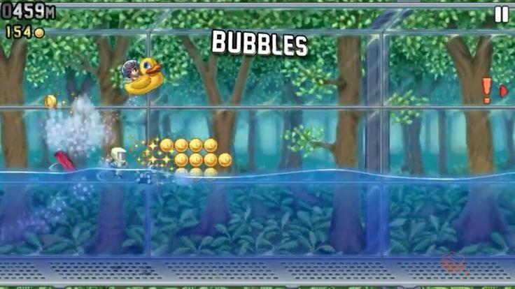 #JetpackJoyride Bubbles