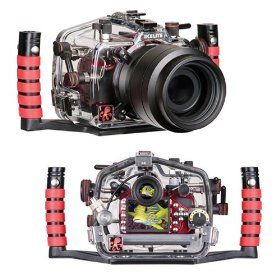 Ikelite 6801.32 Underwater Camera Housing for Nikon D-3200 Digital SLR Camera